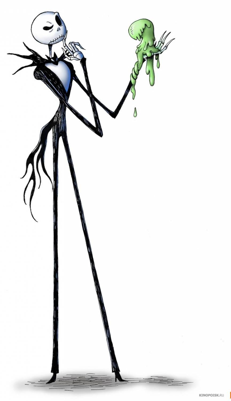Рисунок джека повелителя тыкв