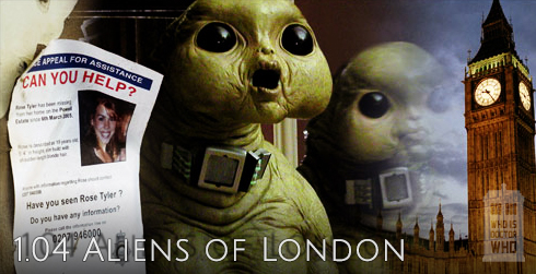 Doctor Who s01e04 Aliens of London