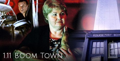 Doctor Who s01e11 Boom Town