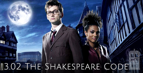 Doctor Who s03e02 The Shakespeare Code