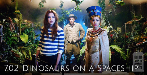 Doctor Who s07e02 Dinosaurs On A Spaceship