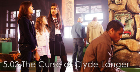 The Sarah Jane Adventures s05e03 The Curse of Clyde Langer (Part One)