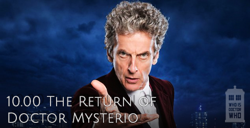Doctor Who s10e00 The Return of Doctor Mysterio